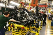 Land Rover production line