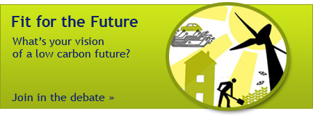 Fit for the Future: what's your vision of a low carbon future? Join in the debate.