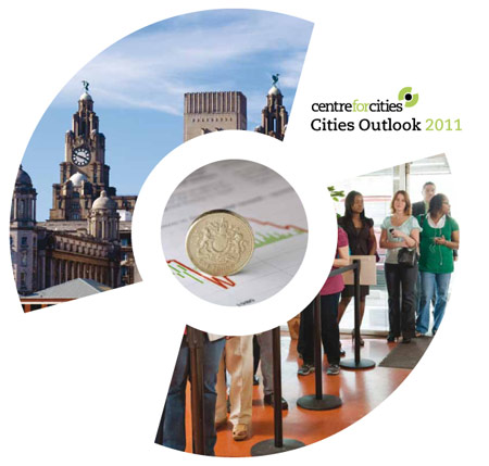 Cover of Cities Outlook 2011 by Centre for Cities